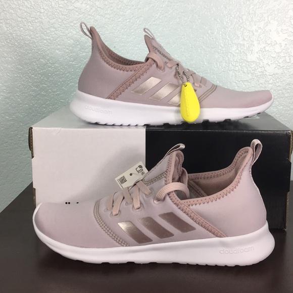 9c12052bb31 Adidas Cloudfoam Pure Running Shoe Ice Purple